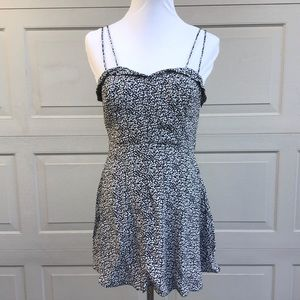 Kimchi Blue Urban Outfitters Black and White Dress